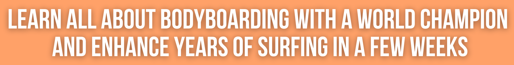 bodyboard course